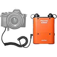 Fomito Portable Flash Power Battery Pack Kit Godox PB960 for Sony A7 A7S A7SII A7R A7K A7M2 Cameras with NP-PW20 AC Power Supply Adapter + PB SX Flash Power Cable for Sony HVL-F58AM HVL-F56AM Flashes [並行輸入品]