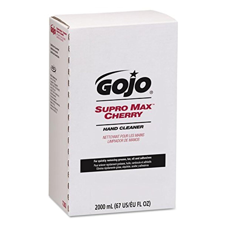 ベッド連合薄いですgoj728204 – GOJO Supro MaxチェリーHand Cleaner