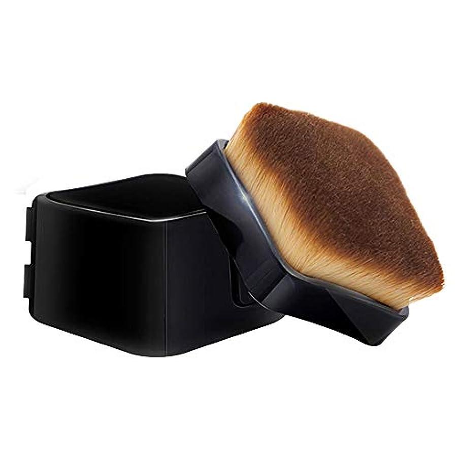 軍団植物学手のひらEsubara メイクブラシ ファンデーションブラシ 化粧筆 フェイスブラシ 柔らかい毛