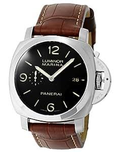 [パネライ] PANERAI 腕時計 ルミノール1950 44mm 3デイズ PAM00312 P番 SS/レザー 自動巻き [中古品] [並行輸入品]
