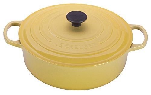 ルクルーゼ ココット ジャポネーズ ホーロー 鍋 IH 対応 24cm クインスイエロー 25052-24-416