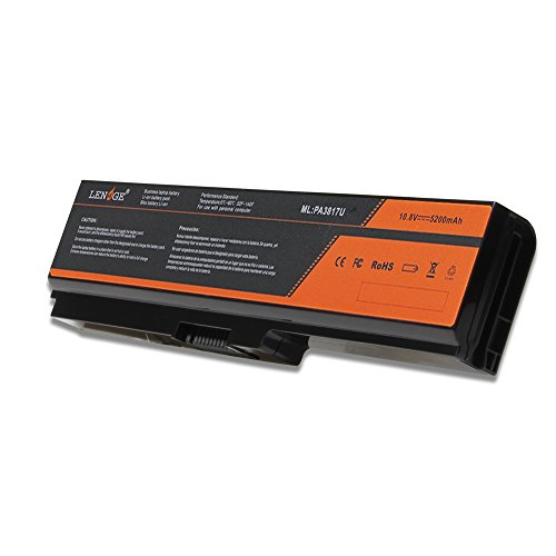 LENOGE TOSHIBA Dynabook T351 T451 Qosmio T551 Satellite L700 L750 バッテリー PA3817U-1Brs PA3818U-1Brs PABAS228 対応 パソコン バッテリパック 5200mAh 10.8V ブラック