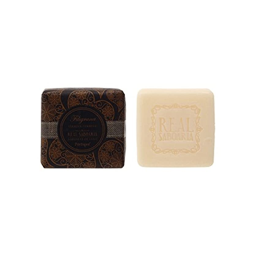 切手テレマコスチューブリアルサボアリア(Real Saboaria) ソープ フィリグラーナ 45g