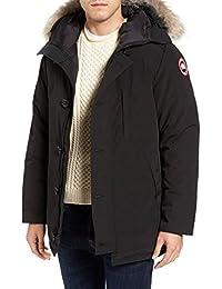(カナダグース) Canada Goose Men`s Chateau Slim Fit Genuine Coyote Fur Trim Jacket メンズスリムフィット本物のコヨーテファートリムジャケット(並行輸入品)