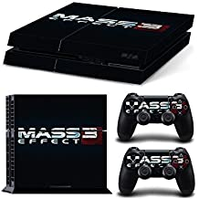 Sony PlayStation 4 Skin Decal Sticker Set - Mass Effect 3 (1 Console Sticker + 2 Controller Stickers) by SE Decor [並行輸入品]