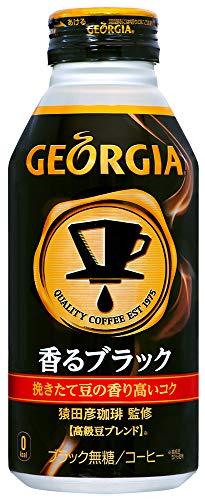 ジョージア ヨーロピアン 香るブラック 400ml ×24缶