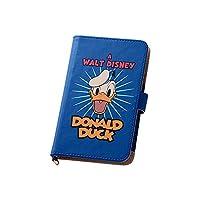 レイ・アウト スマホ 汎用ケース 手帳型 ケース レザーケース ディズニーシリーズ アニメーション Mサイズ(iPhone6/Xperia A SO-04E/GALAXY S4 SC-04E) ドナルドダック RT-DSPLM/DD