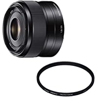 ソニー SONY 単焦点レンズ E 35mm F1.8 OSS ソニー Eマウント用 APS-C専用 SEL35F18 + Kenko レンズフィルター PRO1D プロテクター (W) 49mm レンズ保護用 249512 セット