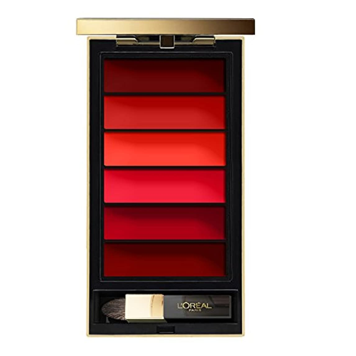 ラフ睡眠頑丈ラテンL'OREAL - Rouge à lèvres - COLOR RICHE LA PALETTE - RED