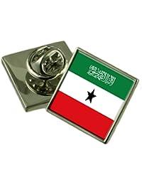ソマリランドの旗ラペルピンバッジ 18 mm ギフトポーチを選択します