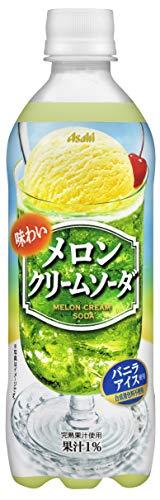 味わいメロンクリームソーダ 500ml ×24本