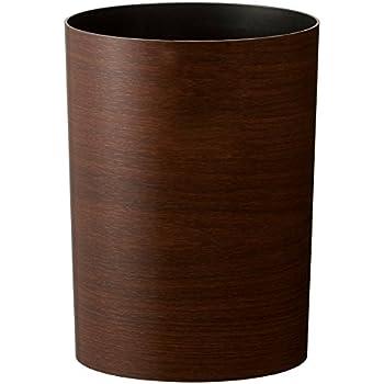 アスベル 木目調ゴミ箱S 「ルクレールコレクション」 4.7L ブラウン