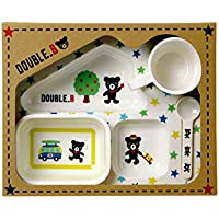 ミキハウス ダブルビー (MIKIHOUSE DOUBLE_B) テーブルウェアセット 60-8927-974 - マルチカラー