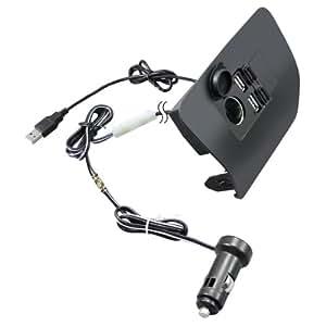 槌屋ヤック  コンソール 30系プリウス専用 フロントコンソール電源BOX SY-P1