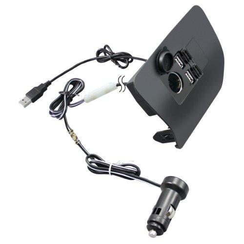 槌屋ヤック 30系プリウス専用フロントコンソール電源BOX SY-P1