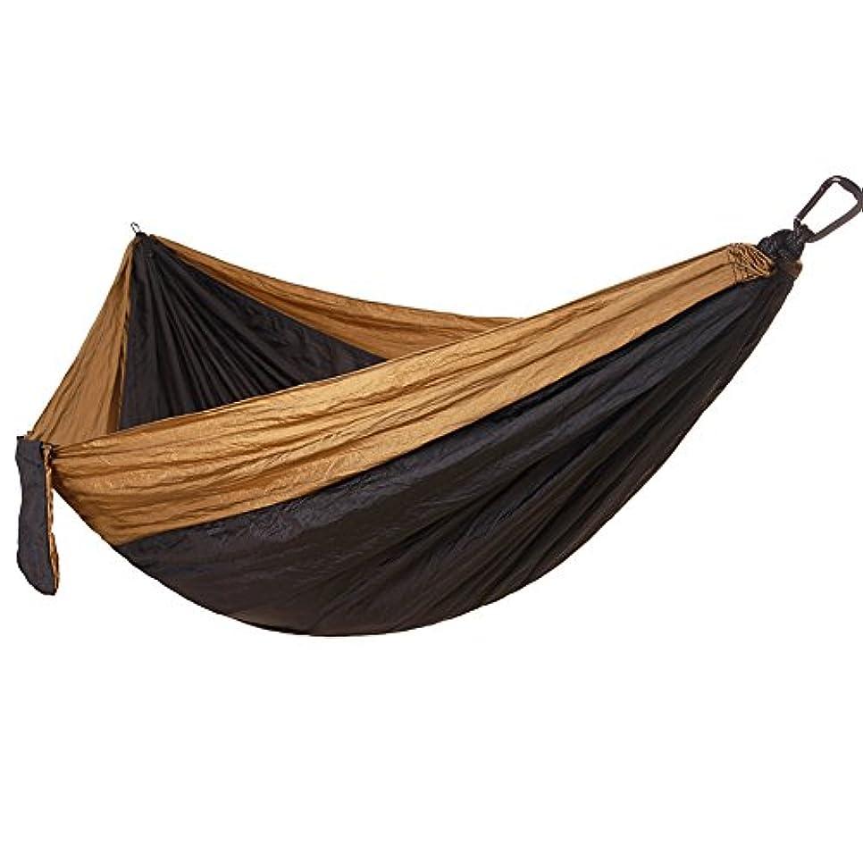 オデュッセウスポール熟したハンモッ パラシュート 耐荷重 収納袋付き カラビナ付き 折畳み 登山用 野外 持ち運び簡単