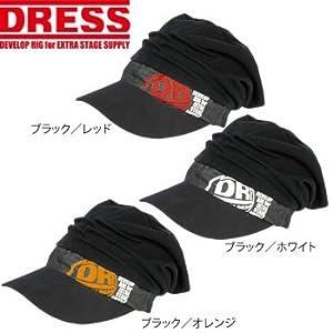 ドレス(DRESS) DRESSキャスケット 4571443136473 ブラック/レッド