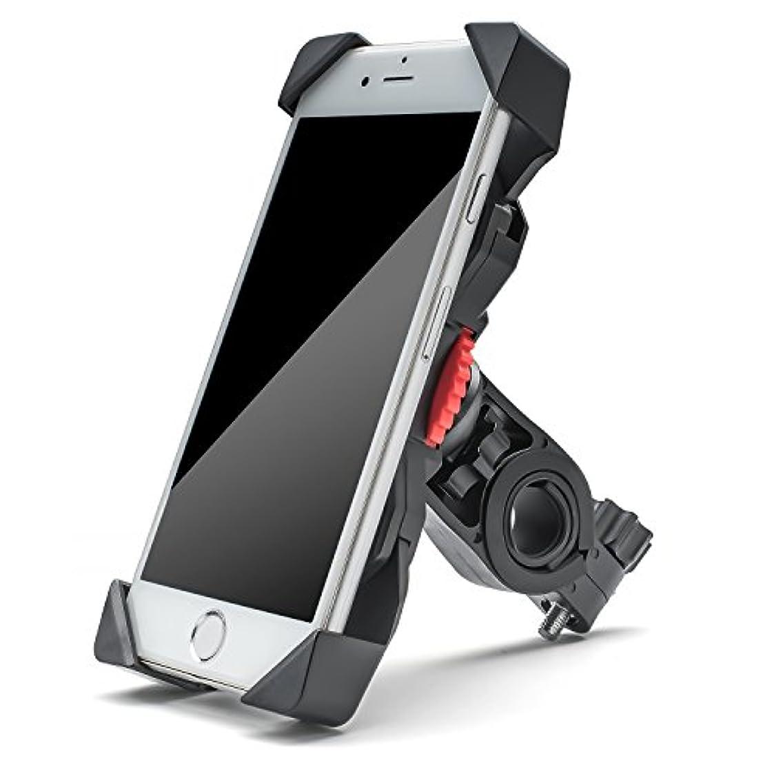 にじみ出るトマト悪性YIEASY 自転車ホルダー スマホホルダー 自転車/バイク携帯ホルダー スマートフォンマウントホルダー バイクスタンド 360度回転 スマホ/iPhone/GPSナビ固定用 マウントキット 脱落防止 Andriod/iPhoneに多機種対応