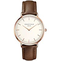 Rosefield the bowery Womens Analog Quartz Watch with Leather bracelet BWBRR-B3