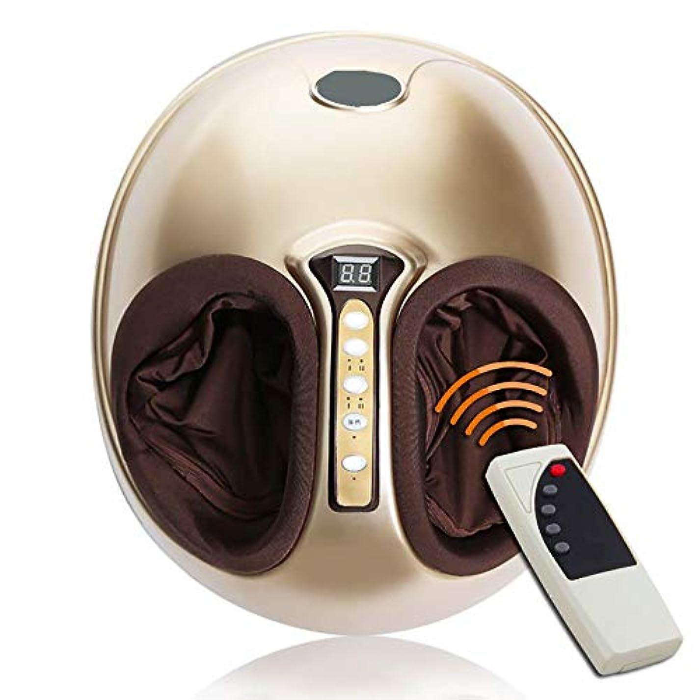 極小トライアスリート花婿フットマッサージャー指圧マッサージ器高温混練ローリング圧縮空気と強度調節可能な家庭用マッサージャーはストレスを軽減します