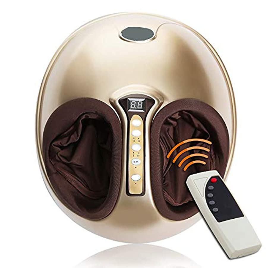 勧める肘赤外線フットマッサージャー指圧マッサージ器高温混練ローリング圧縮空気と強度調節可能な家庭用マッサージャーはストレスを軽減します