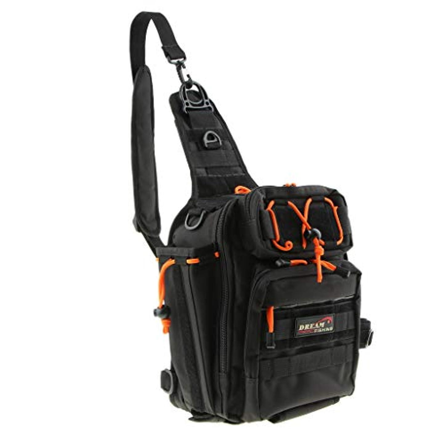 鉛開業医のためにFLAMEER 多機能 バックパック タックルバッグ ウェストバッグ ナイロン 大容量 撮影 調節可能 全3色