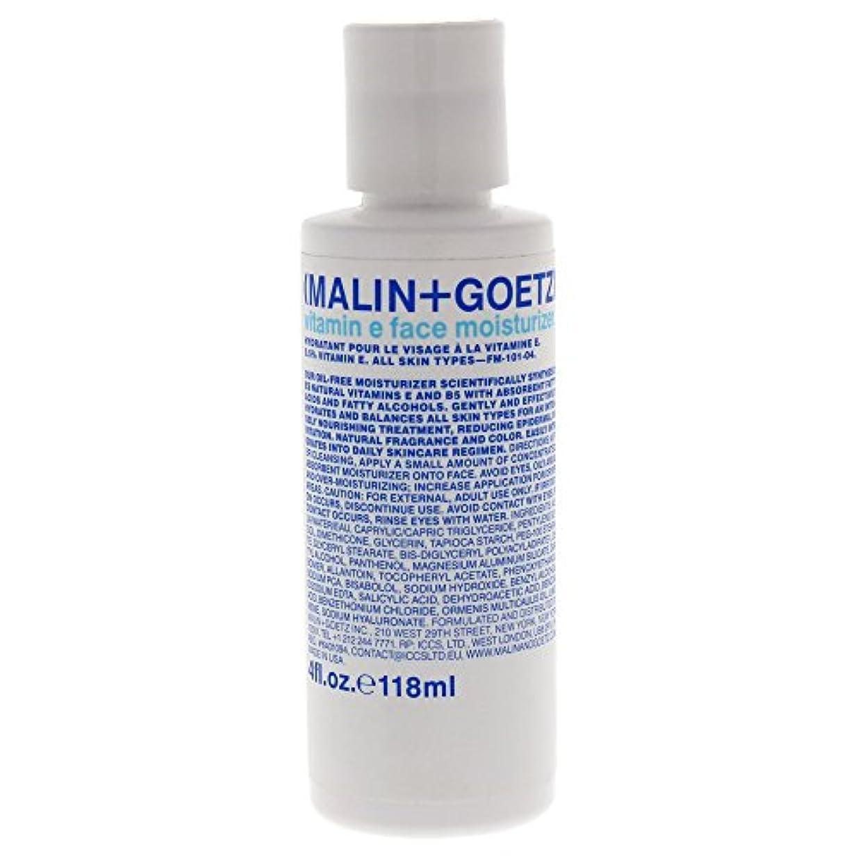 ヒギンズ浜辺気がついてMALIN+GOETZ Vitamin E Face Moisturizer 118ml/4oz並行輸入品