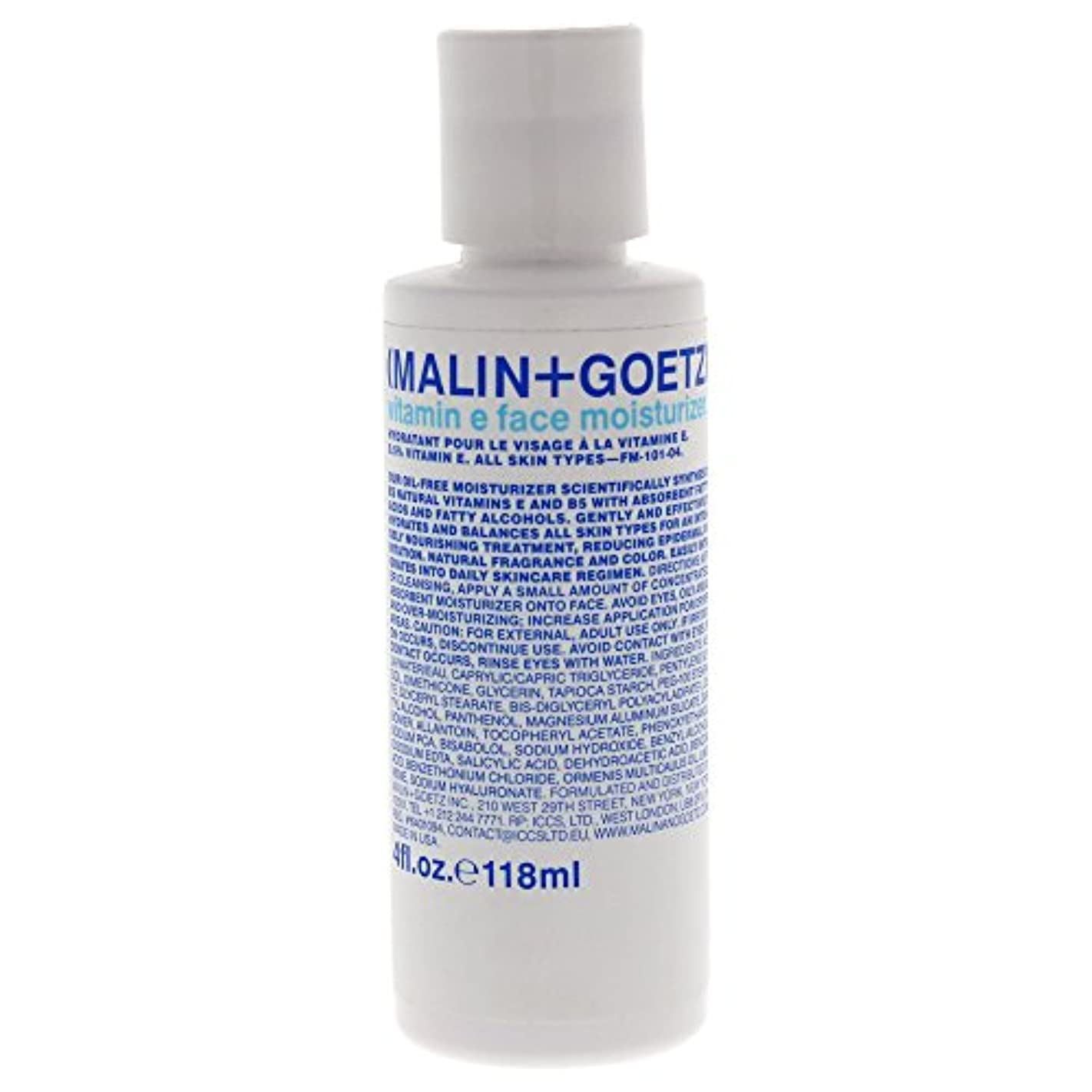 ハグ昼間債務者MALIN+GOETZ Vitamin E Face Moisturizer 118ml/4oz並行輸入品