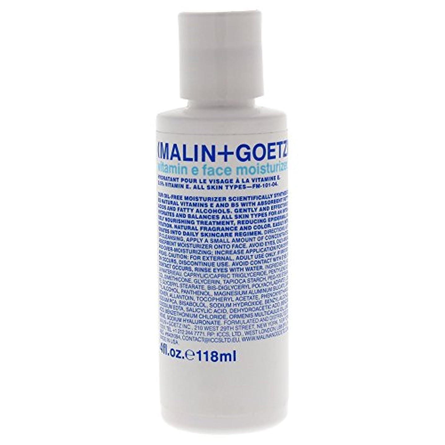 挑発するターミナル動機付けるMALIN+GOETZ Vitamin E Face Moisturizer 118ml/4oz並行輸入品