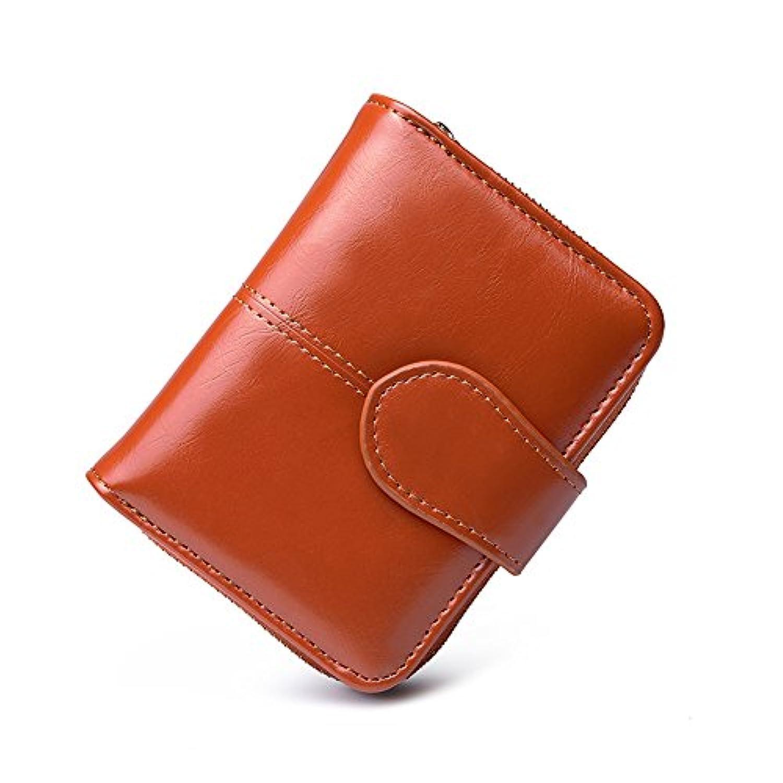 Adolph 財布 (二つ折り財布) レディースウォレットレディ小銭入れ付 高級レザー ZY-1002