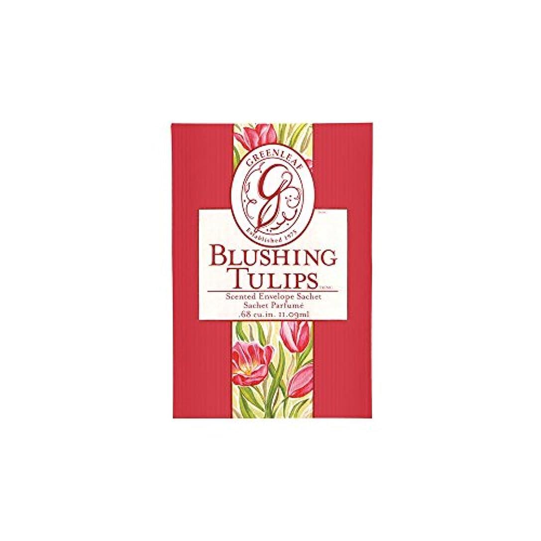 ピカリング研究所資料Greenleaf Small Fragrance Sachet Car Air Freshener - Blushing Tulips