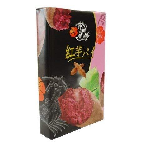 フルーツパイ紅芋 大 17枚入×4箱 南風堂 パイ生地を何層にも折り込み、甘くて人気の果物マンゴー味に焼き上げました
