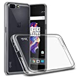 Imak Full Cover Shockproof Soft TPU Airbag Case for Oneplus 5, Transparent
