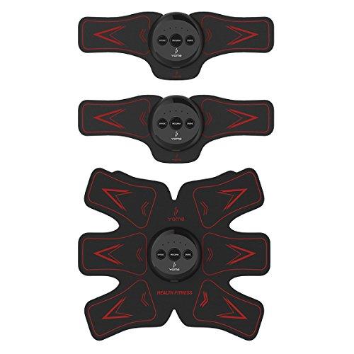 [一年间保証] EMS 筋トレ 腹筋ベルト 腹筋トレーニング USB充電式 ボディフィット筋トレ フィットネスマシン筋肉 お腹 腕部 太ももエクササイズ用 ダイエット器具 ダイエットマシーン 超薄、静音 自動的に筋肉トレーニング マシーン 腹筋器具 日本語取扱説明書付き USB充電式 男女兼用 運動不足に向き CEとFCCに認定 Jinjiu