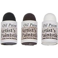 Jack Richeson Shiva Oil Paintstik, Toning Colors, Set of 3 by Jack Richeson