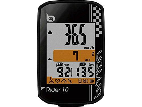 BRYTON(ブライトン) RIDER 10 E (ライダー10E) GPSサイクルコンピューター(単体) ブラック TB0F0R010EBLK