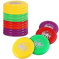 9「スポーツプラスチックFlying Discs ( Set of 12)