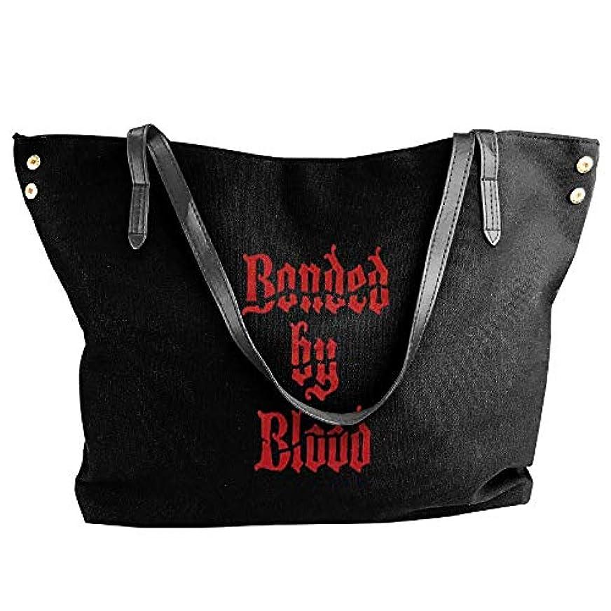 シャンパンマークセッション2019最新レディースバッグ ファッション若い女の子ストリートショッピングキャンバスのショルダーバッグ Exodus Bonded By Blood 人気のバッグ 大容量 リュック
