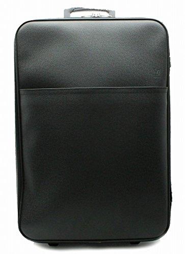 [ルイ ヴィトン] LOUIS VUITTON タイガ ペガス60 スーツケース キャリーバッグ キャリーケース 旅行用 トラベル レザー アルドワーズ 黒 ブラック M23262 [中古]