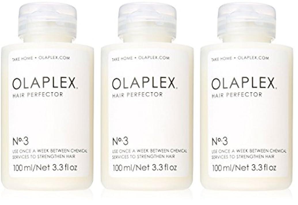 考古学的な初心者オーバードローOlaplex Hair Perfector No 3 Repairing Treatment 3Pack (3.3 OZ)