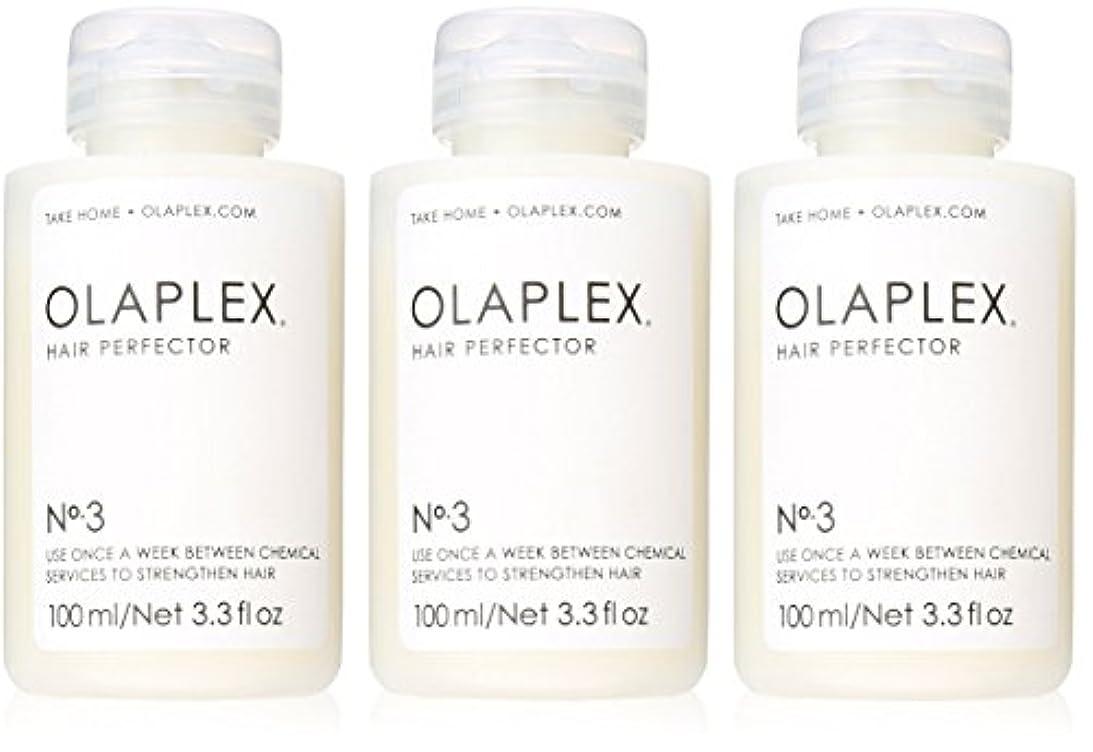 武器守銭奴打たれたトラックOlaplex Hair Perfector No 3 Repairing Treatment 3Pack (3.3 OZ)