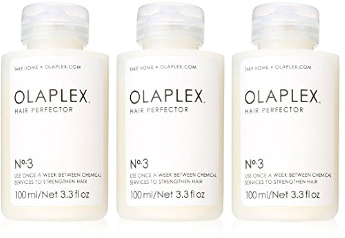 何テロ復讐Olaplex Hair Perfector No 3 Repairing Treatment 3Pack (3.3 OZ)