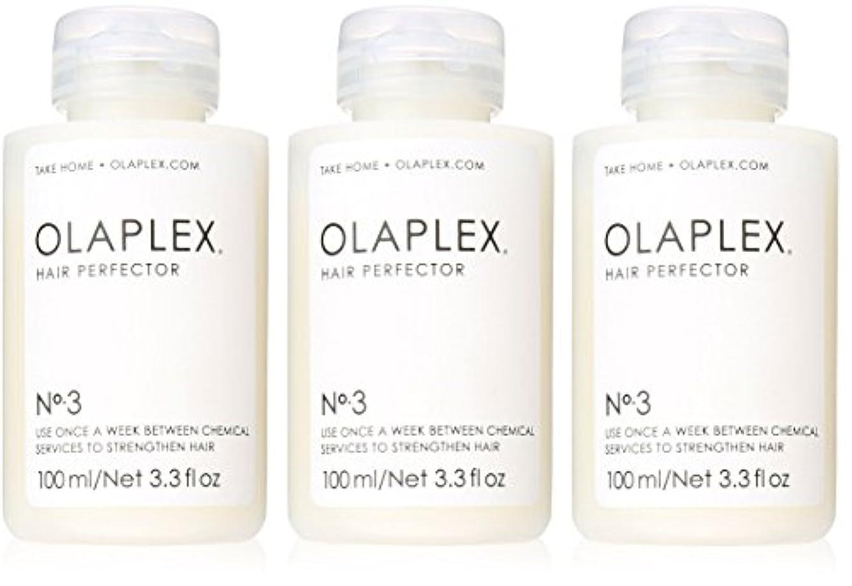治療上ウミウシOlaplex Hair Perfector No 3 Repairing Treatment 3Pack (3.3 OZ)