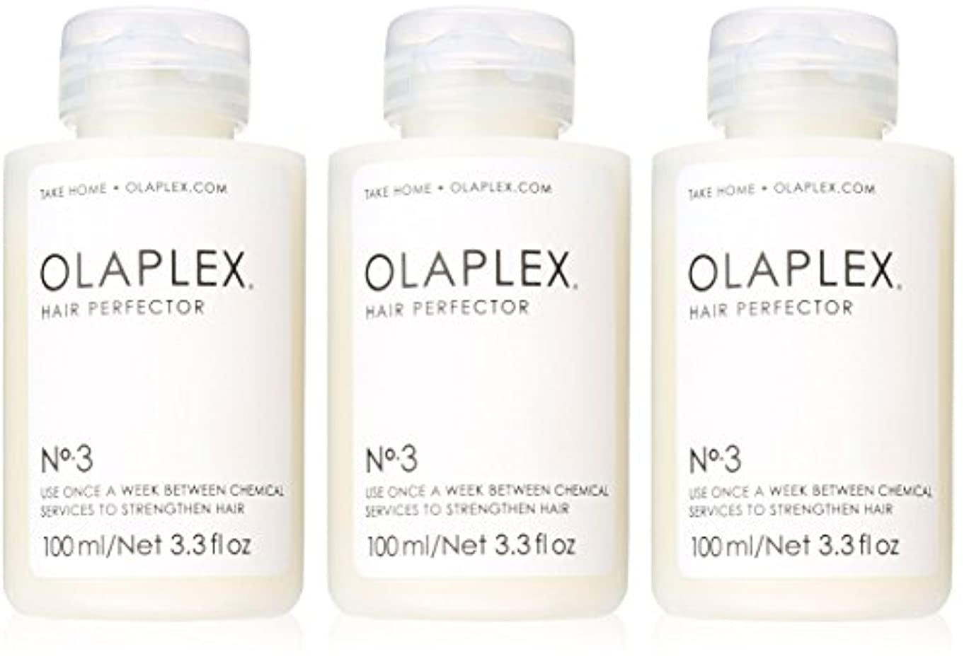 神聖読書スカウトOlaplex Hair Perfector No 3 Repairing Treatment 3Pack (3.3 OZ)
