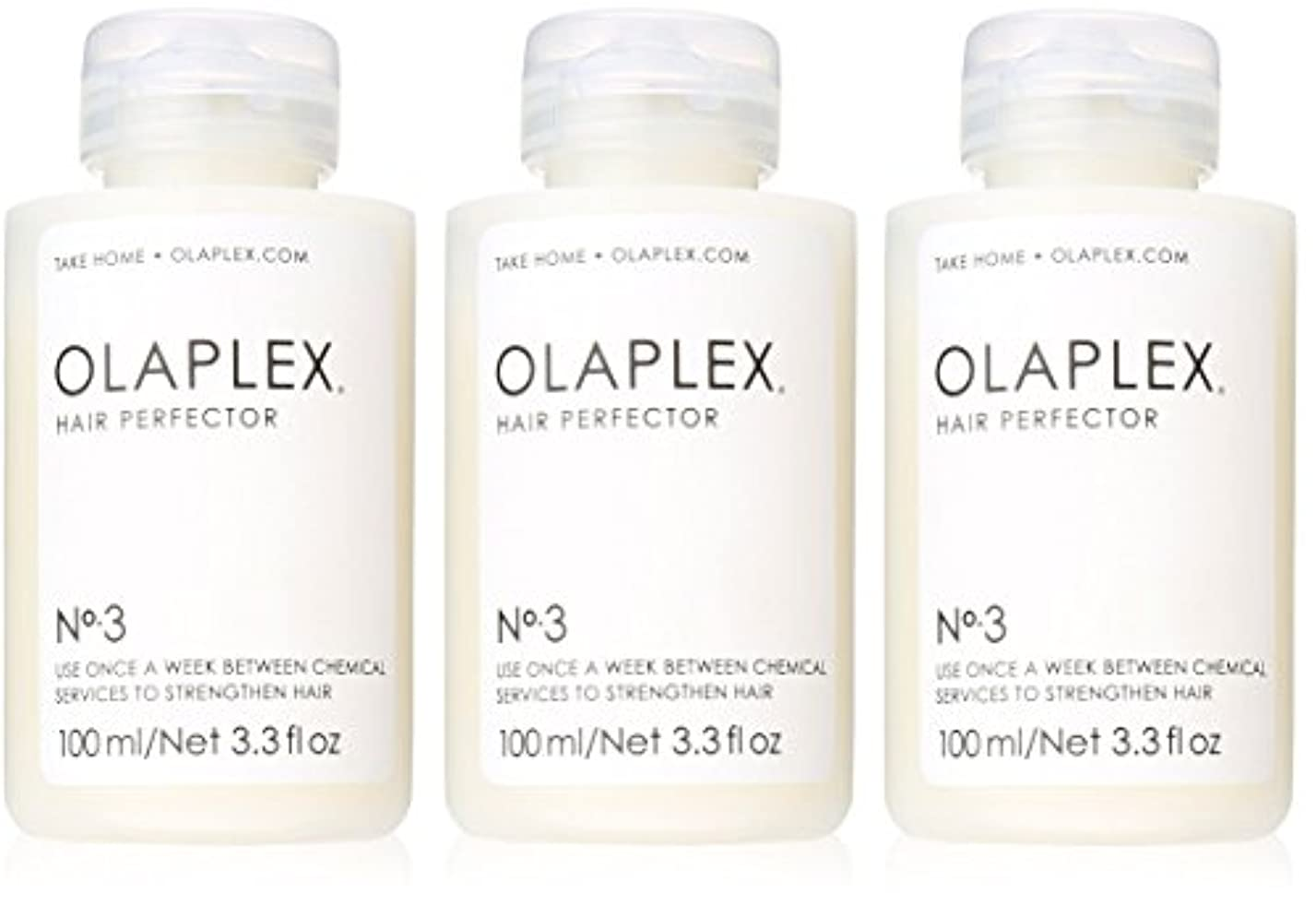 中で受信機魅力的Olaplex Hair Perfector No 3 Repairing Treatment 3Pack (3.3 OZ)