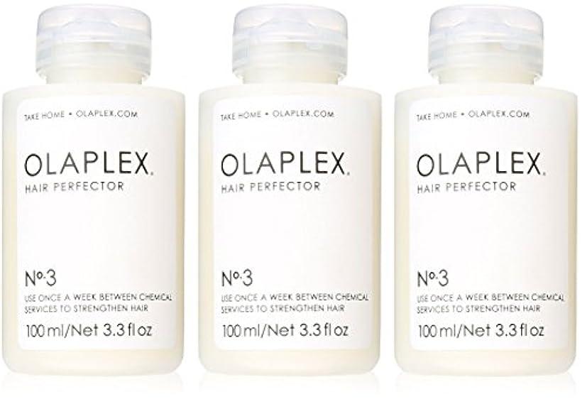 ダーツ花婿なぞらえるOlaplex Hair Perfector No 3 Repairing Treatment 3Pack (3.3 OZ)