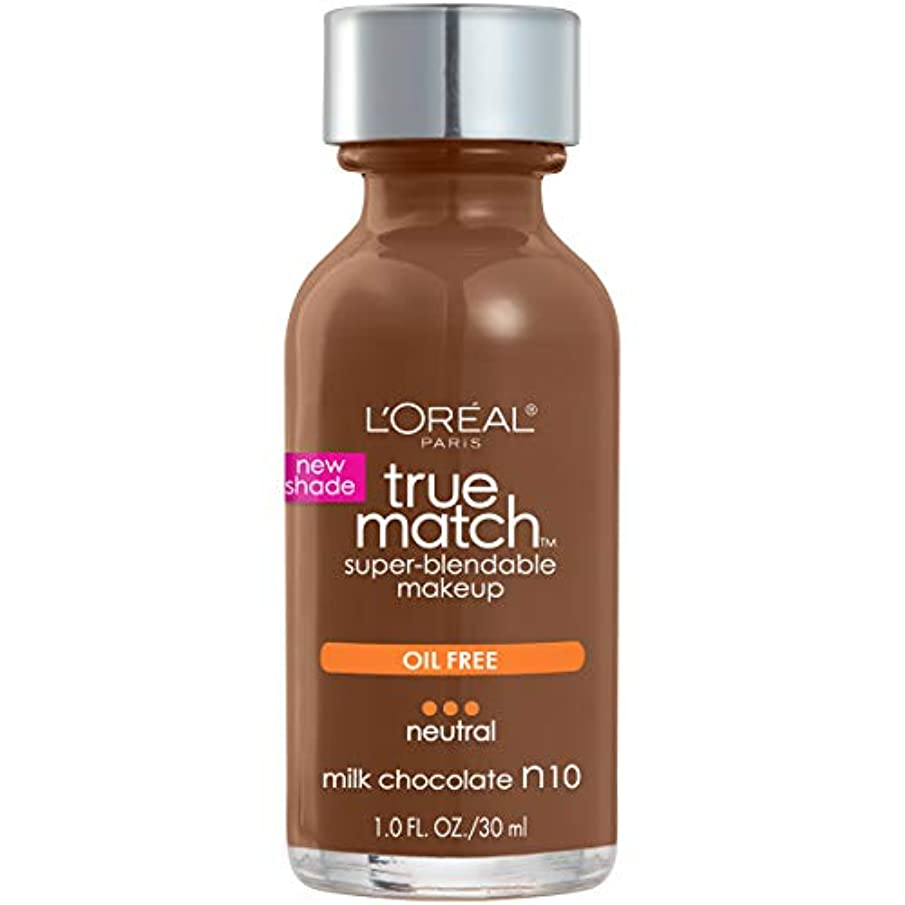 専ら控えるはいL'Oréal True Match Super-Blendable Foundation Makeup (MILK CHOCOLATE)