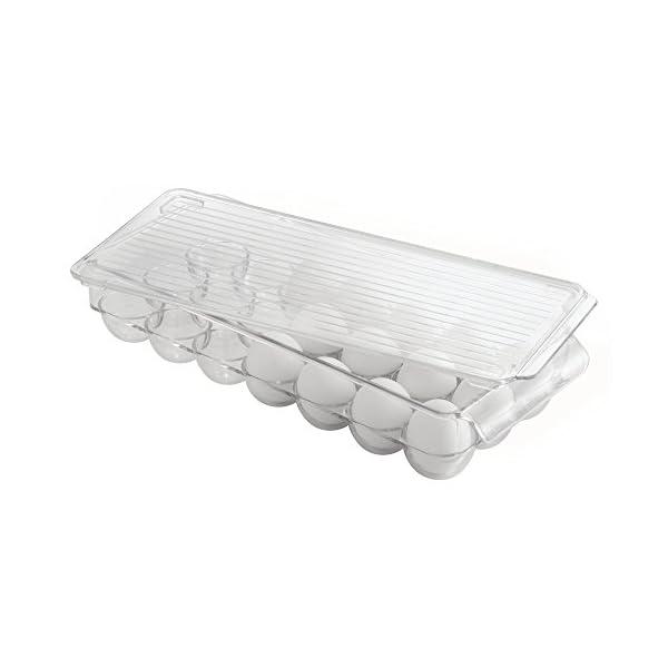 InterDesign 冷蔵庫用 卵入れ エッ...の紹介画像2