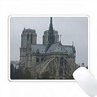 パリ・ノートルダム・イン・フランス(フランス) PC Mouse Pad パソコン マウスパッド