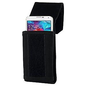 イケショップ×タイムリー [ iPhone 6Plus、Xperia Z2/Z1、GalaxyNote 3 対応 ] ベルトポーチ・5.5インチ級対応モデル [ PALS(米軍ポーチ調達規格)準拠 ] ブラック IKS-CASE13346
